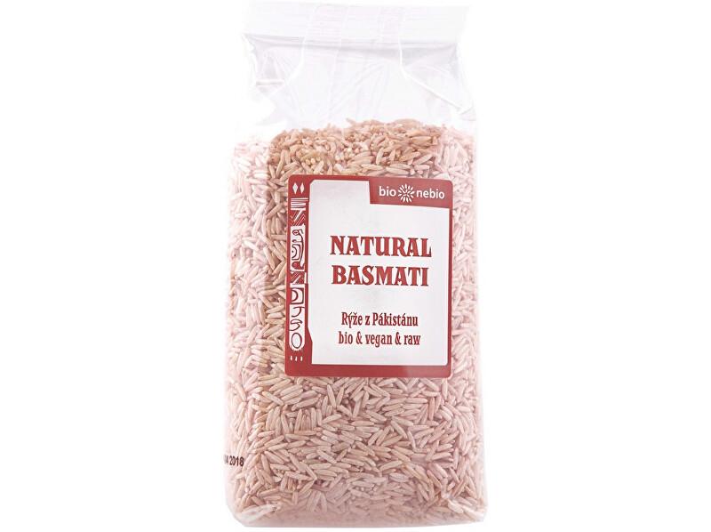 Bio nebio s. r. o. Bio Rýže Basmati natural 500g