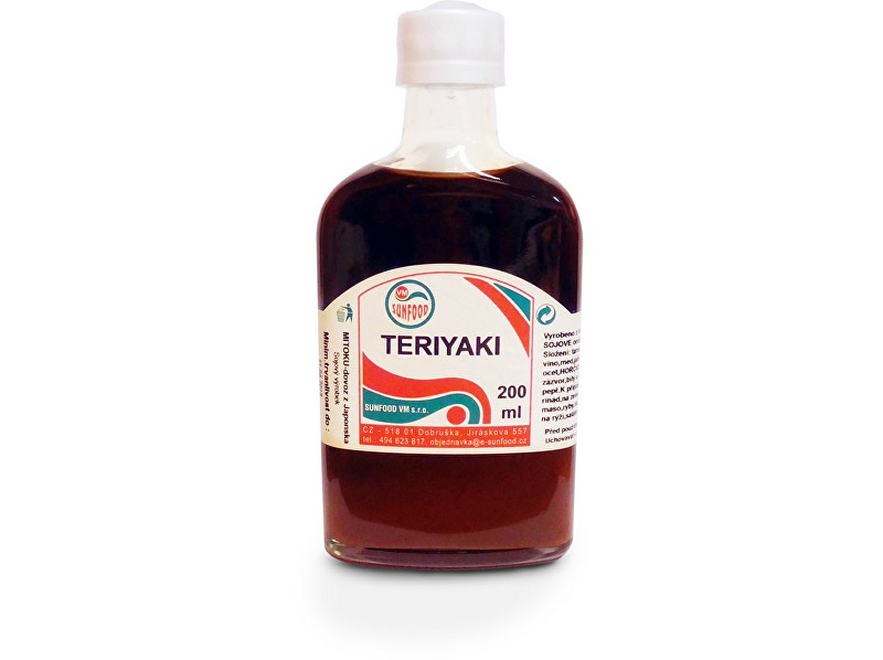 Sunfood Teriyaki Sanjirushi, tamari 200 ml