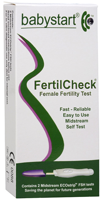 FertilCheck test ženské plodnosti 2 ks