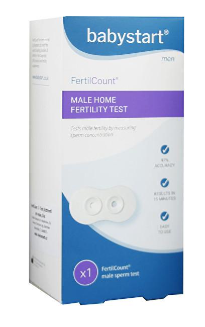 Test mužské plodnosti FertilCount 1 použití