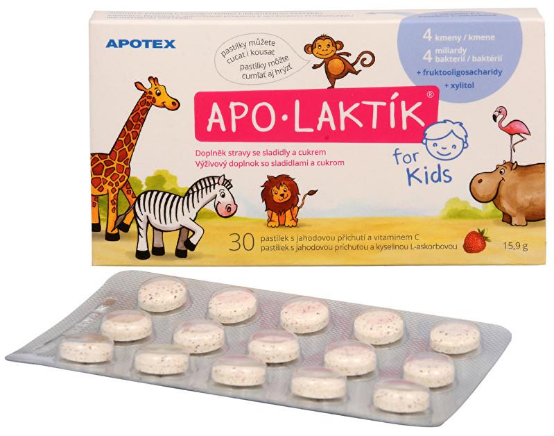 APO-LAKTÍK for Kids 30 žvýkacích pastilek