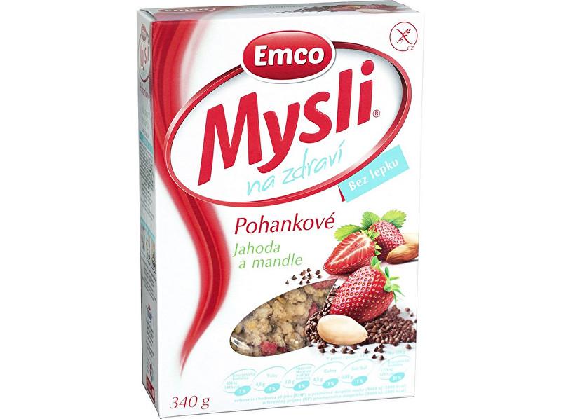 Zobrazit detail výrobku EMCO Mysli Pohankové - Jahody a mandle 340g