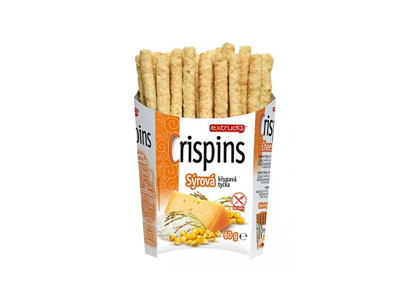 Zobrazit detail výrobku EXTRUDO Crispins tyčka sýr 60g