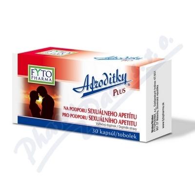 Afroditky Plus tob.30 pro sexuál.apetit Fytopharma