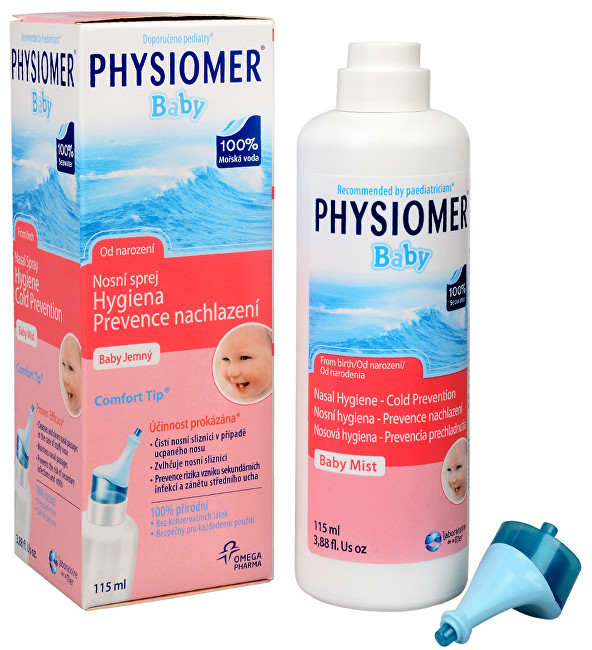 Fotografie Physiomer Baby 115 ml