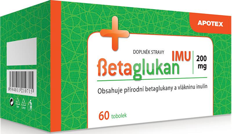 Apotex Betaglukan IMU 200 mg 60 tob.