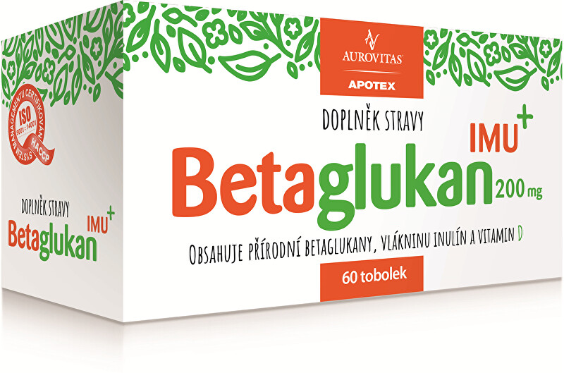 Zobrazit detail výrobku Aurovitas Betaglukan IMU 200 mg 60 tob.