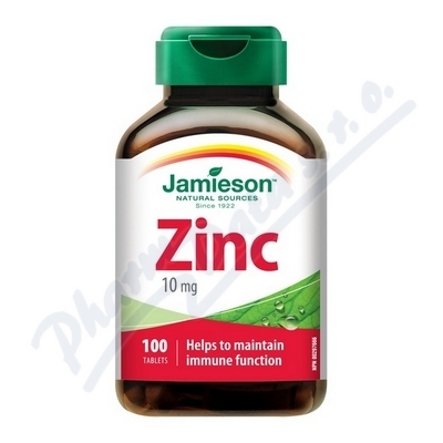 JAMIESON LABORATORIES JAMIESON Zinek 10mg tbl.100