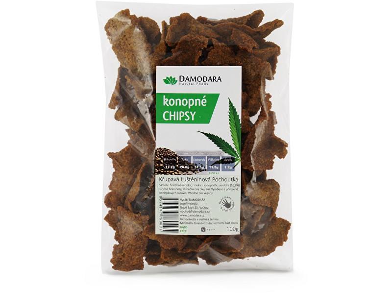 Zobrazit detail výrobku Damodara Konopné chipsy 100g