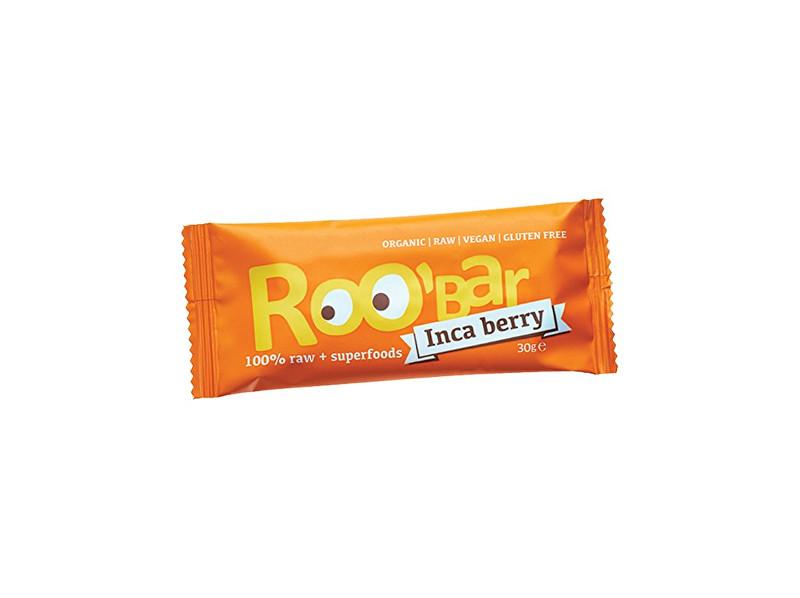 Roobar Bio tyčinka Roobar Datlová mochyně pomeranč 30g RAW