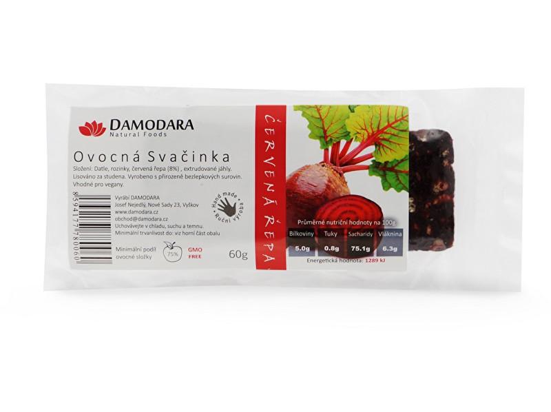 Zobrazit detail výrobku Damodara Ovocná svačinka červená řepa 60g