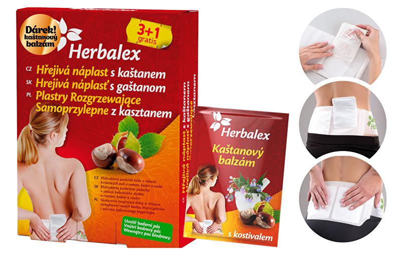Zobrazit detail výrobku QUANTEC PRO Herbalex hřejivá nápl. s kaštan. 3+1+BED PÁS+Dárek