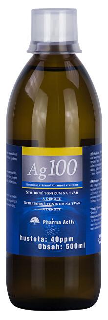 Pharma Activ Koloidní stříbro Ag100 (40ppm) 500 ml