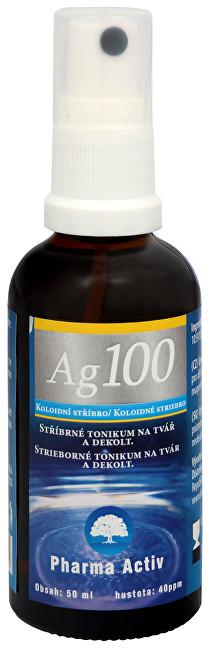 Koloidní stříbro Ag100 (40ppm) spray 50 ml