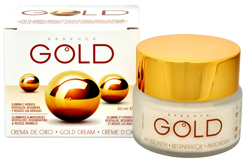 Krém se zlatem SPF 15 (Gold Cream) 50 ml