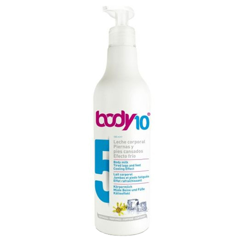 Zobrazit detail výrobku Diet Esthetic Tělové mléko na unavené nohy a chodidla s chladivým účinkem Body 10 (Body Milk Tired Legs and Feet Cooling Effect 5) 500 ml