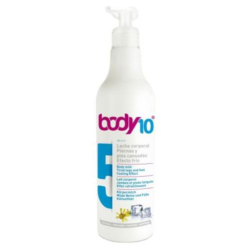 Tělové mléko na unavené nohy a chodidla s chladivým účinkem Body 10 (Body Milk Tired Legs and Feet Cooling Effect 5) 500 ml