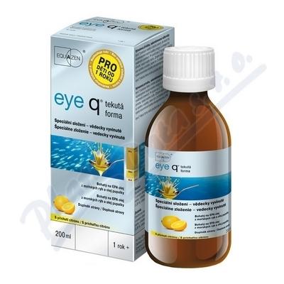 Zobrazit detail výrobku VIFOR S.A., VILLARS SUR GLANE-FRIBOURG eye q tekutá forma s příchutí citrónu 200 ml