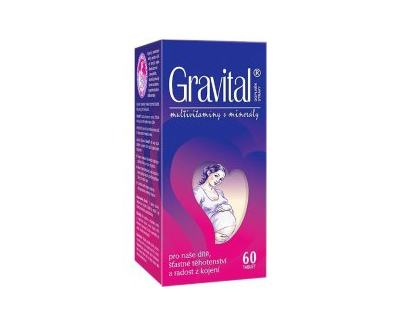 Zobrazit detail výrobku VITA HARMONY VitaHarmony Gravital tbl.60 pro těhot.a koj.ženy