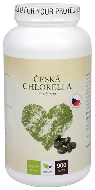 Zobrazit detail výrobku Natural Medicaments Česká chlorella se selenem 900 tbl.