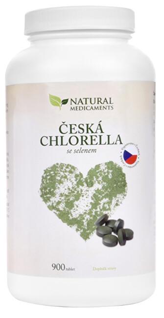 Česká chlorella se selenem 900 tbl.