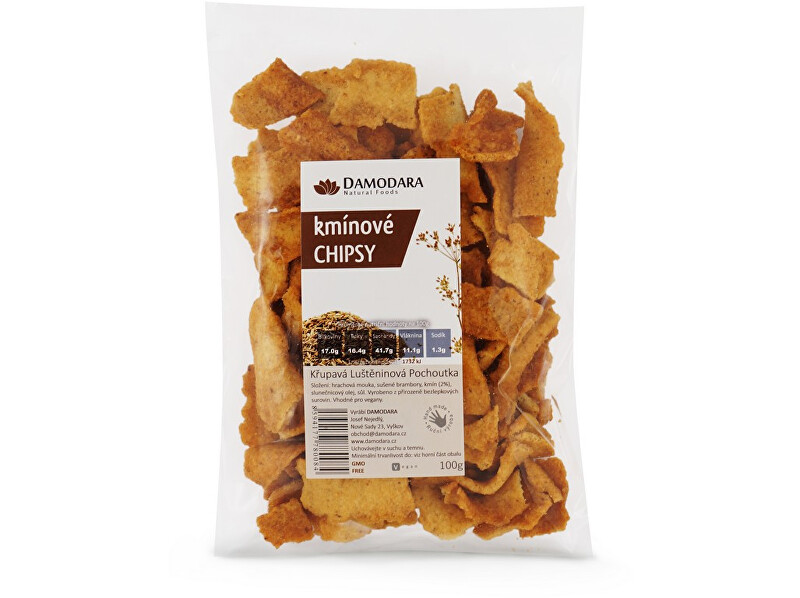 Zobrazit detail výrobku Damodara Kmínové chipsy 100g