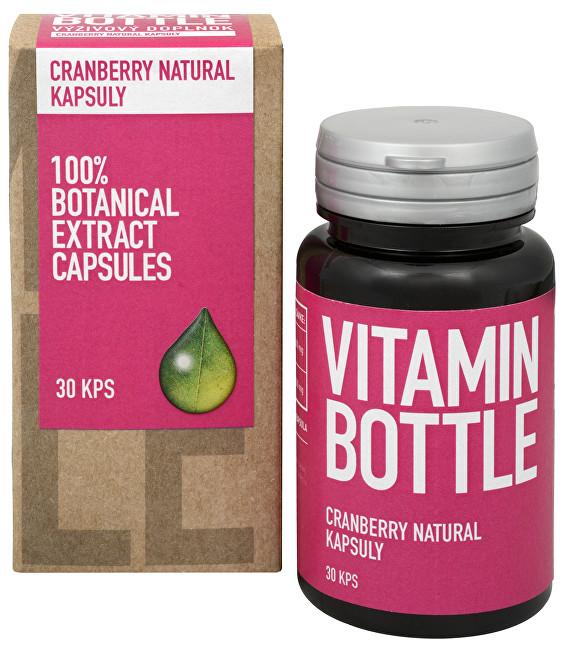 Zobrazit detail výrobku Vitamin-Bottle Cranberry Natural 30 kapslí