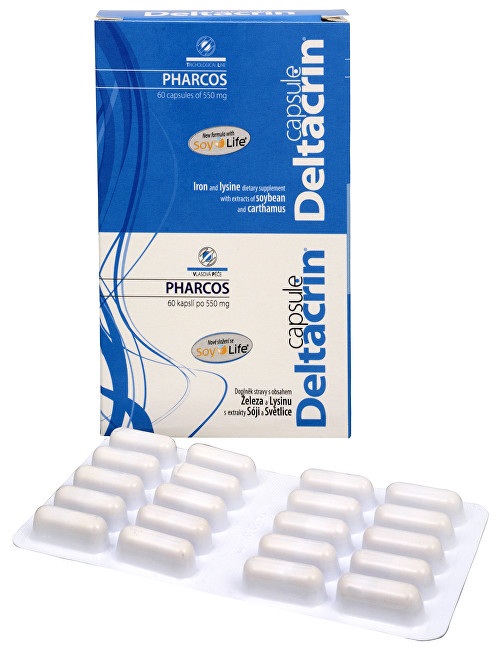 Pharcos Deltacrin 60 kapslí