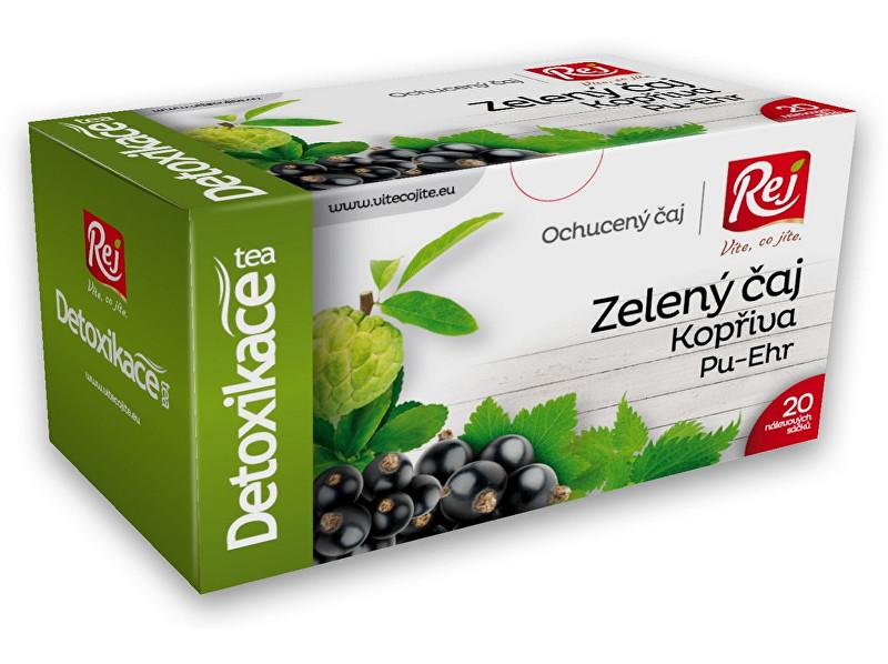 Zobrazit detail výrobku Rej Čaj DETOXIKACE - zelený čaj s kopřivou a pu-erh 30g