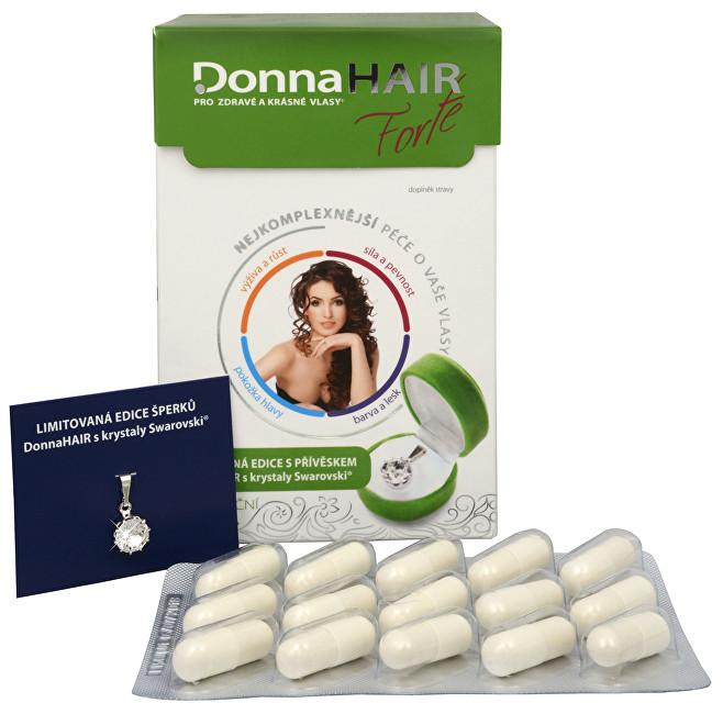 Zobrazit detail výrobku Simply You Donna Hair Forte 90 tob. + přívěšek Swarovski ZDARMA