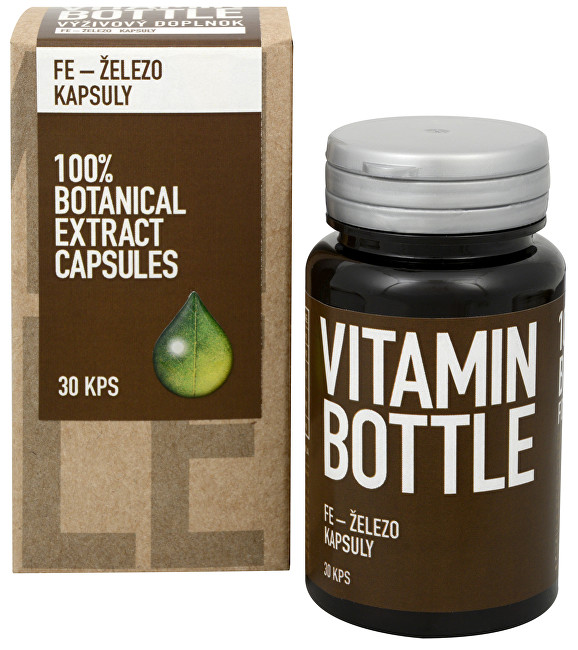 Vitamin-Bottle Fe – železo 30 kapslí