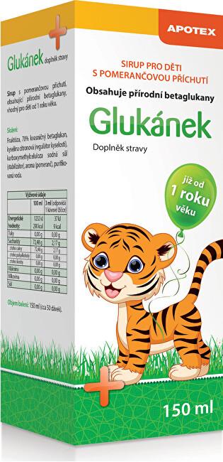 Zobrazit detail výrobku Apotex Glukánek sirup pro děti 150 ml