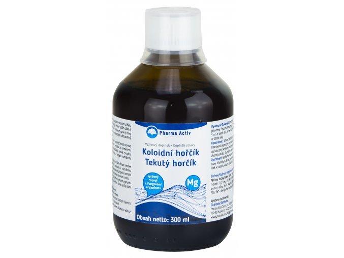 PHARMA ACTIV Koloidní hořčík s vitamínem C 300 ml