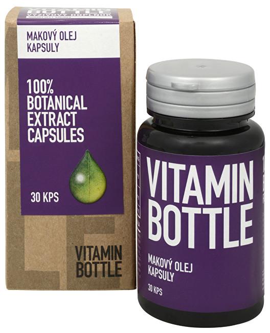 Fotografie Vitamin-Bottle Makový olej 30 kapslí