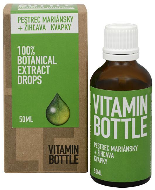 Zobrazit detail výrobku Vitamin-Bottle Ostropestřec mariánský + kopřiva 50 ml