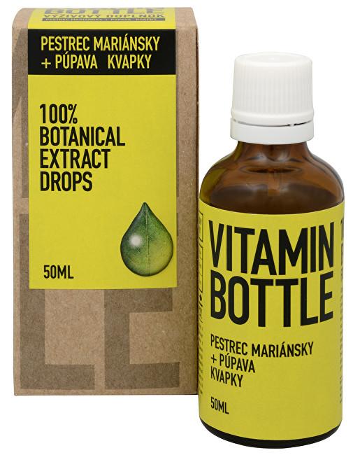 Zobrazit detail výrobku Vitamin-Bottle Ostropestřec mariánský + pampeliška 50 ml