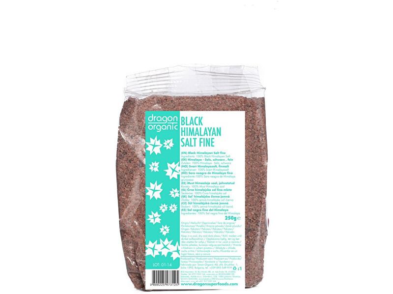 Dragon superfoods Sůl Himalajská černá jemná 250g