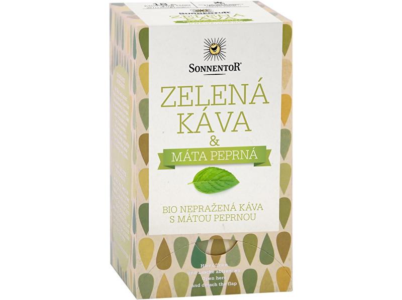 Zobrazit detail výrobku Sonnentor Bio Zelená káva s mátou peprnou 54g