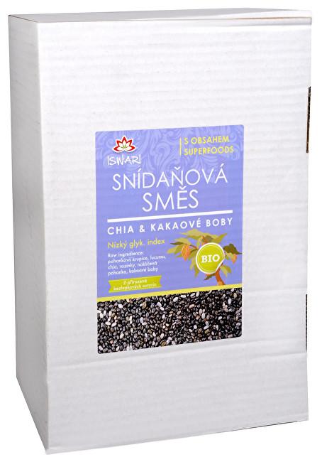 Zobrazit detail výrobku Iswari Bio Snídaňová směs Chia a kakaové boby 3,2 kg