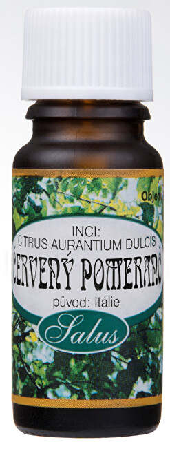 Saloos 100% přírodní esenciální olej pro aromaterapii 10 ml Červený pomeranč