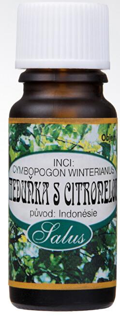 Zobrazit detail výrobku Saloos 100% přírodní esenciální olej pro aromaterapii 10 ml Meduňka s citronelou