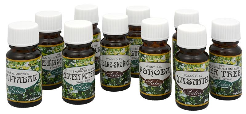 Saloos 100% přírodní esenciální olej pro aromaterapii 10 ml Grep