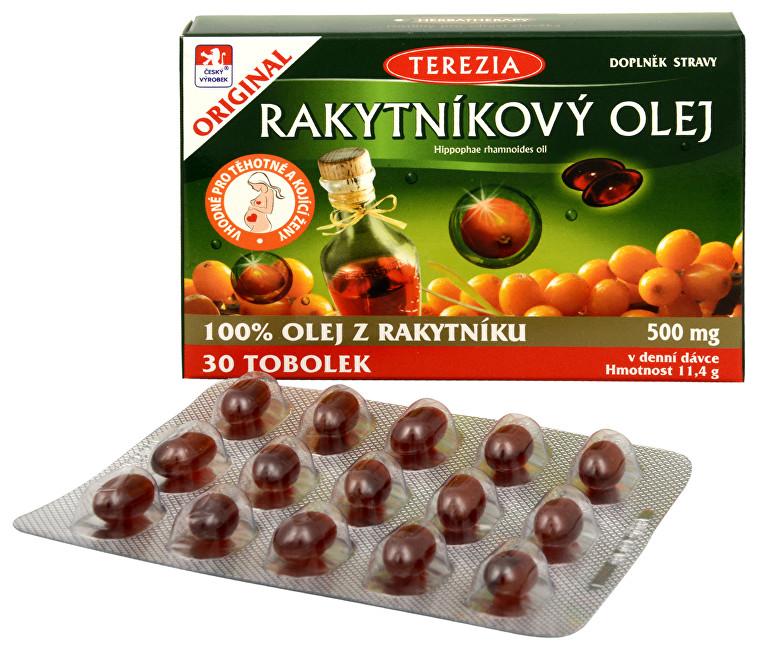 Zobrazit detail výrobku Terezia Company 100% Rakytníkový olej 30 tob.