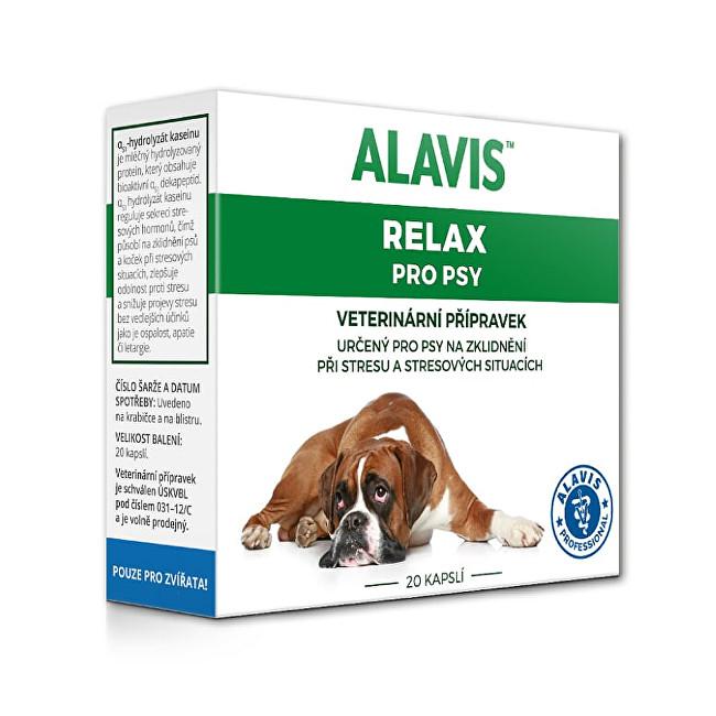 Zobrazit detail výrobku Alavis ALAVIS™ Relax 150 mg pro psy 20 kapslí