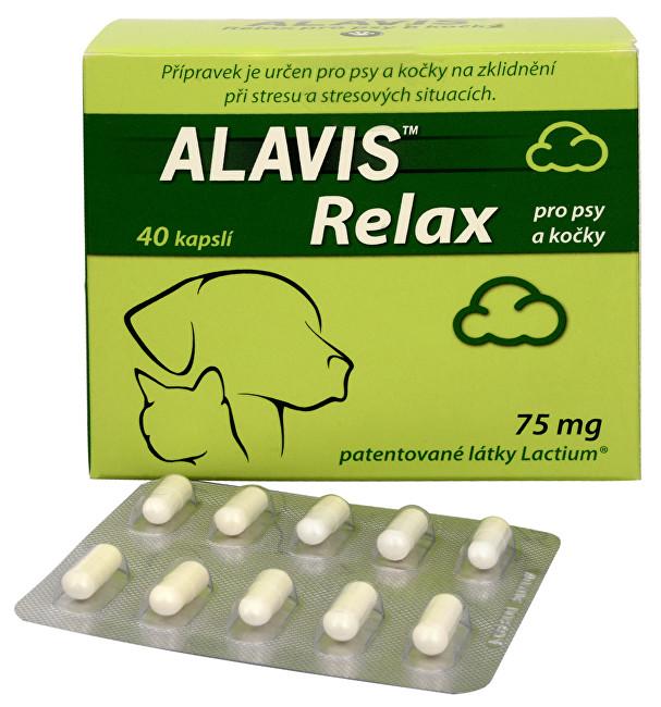 Zobrazit detail výrobku Alavis ALAVIS™ Relax pro psy a kočky 75 mg 20 kapslí