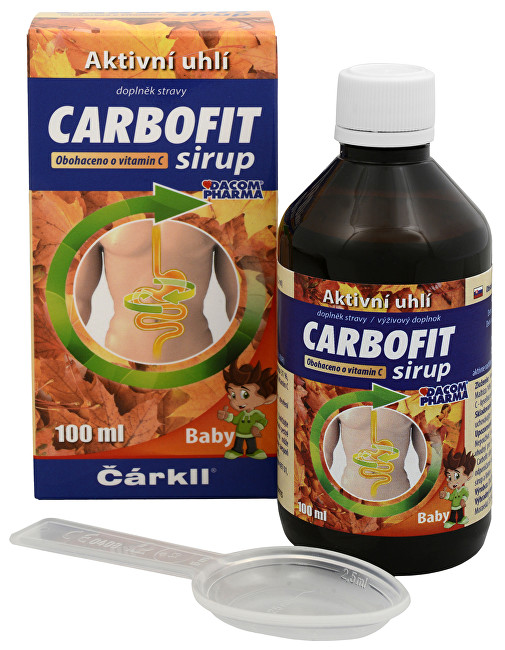 Dacom Pharma Carbofit sirup 100 ml
