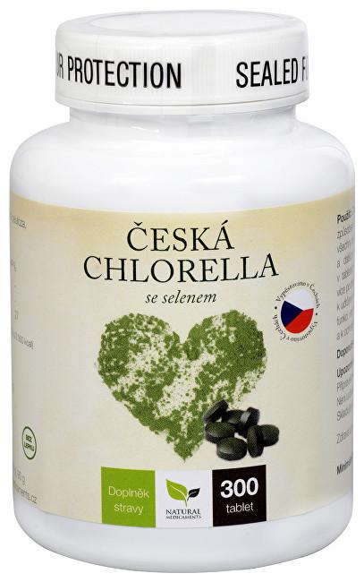 Zobrazit detail výrobku Natural Medicaments Česká chlorella se selenem 300 tbl.