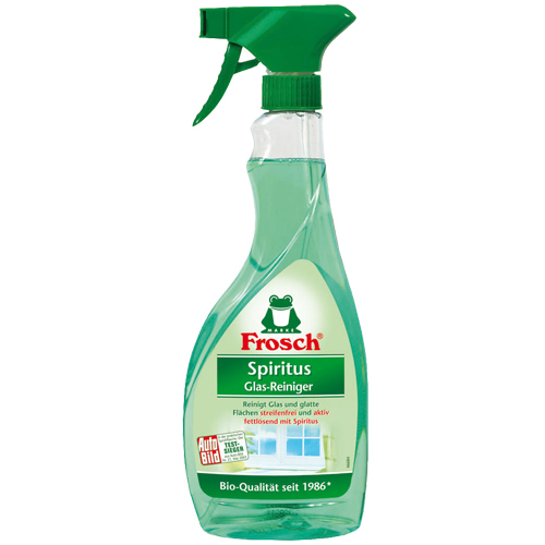 Zobrazit detail výrobku Frosch Čistič skel Spiritus 500 ml