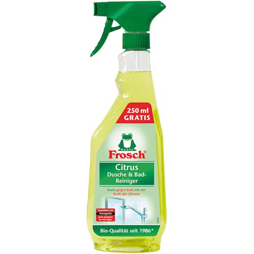 Zobrazit detail výrobku Frosch Citrusový čistič na koupelny a sprchy 500 ml