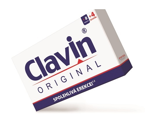 Clavin Original 8 tob. + 4 tob. ZDARMA